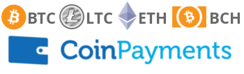 Powered By Coinpayments