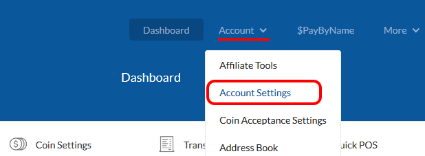 Coinpayments Account Settings Page - Membership Pro Coinpayments Payment Plugin Configuration