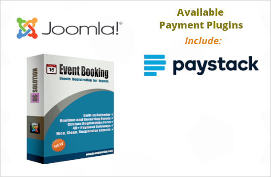 Payment Plugins for Event Booking - Joomla events registration extension