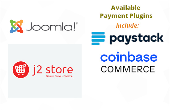 Payment Plugins for J2 Store - Joomla shopping cart and ecommerce extension
